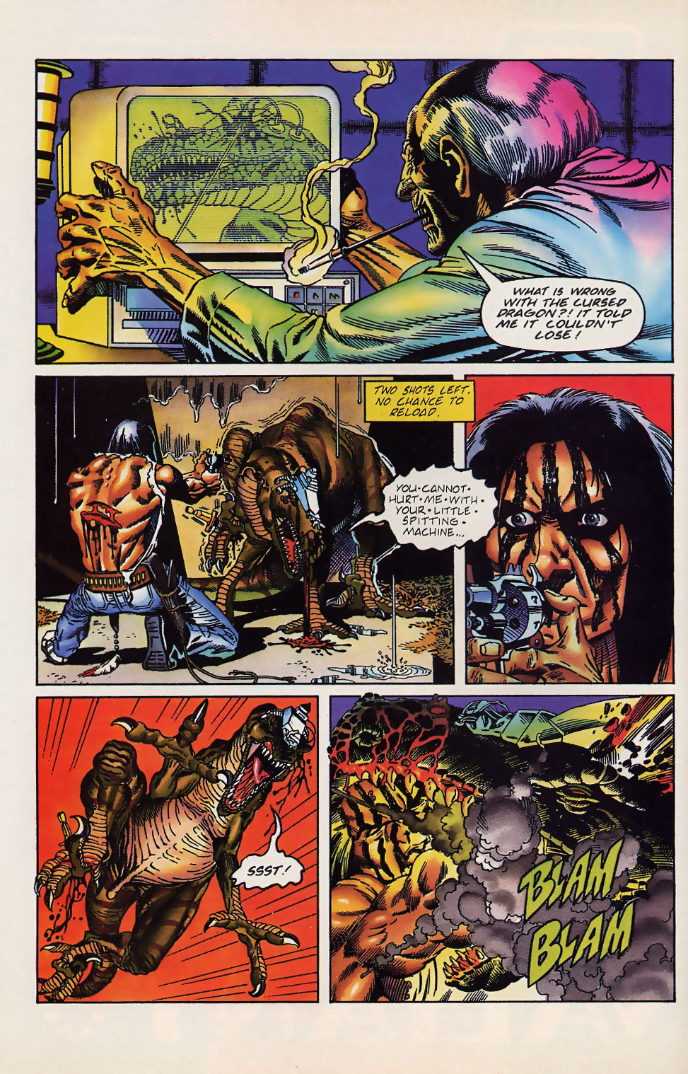Read online Turok, Dinosaur Hunter (1993) comic -  Issue #12 - 7