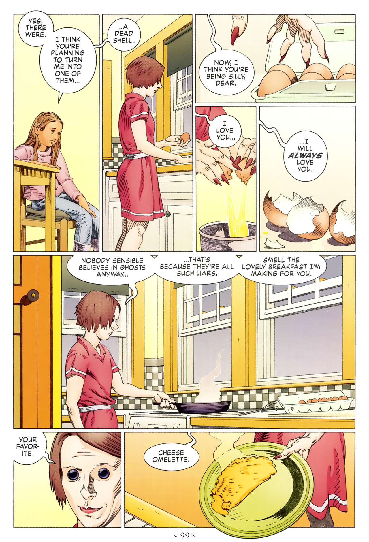 Read online Coraline comic -  Issue #1 - 105