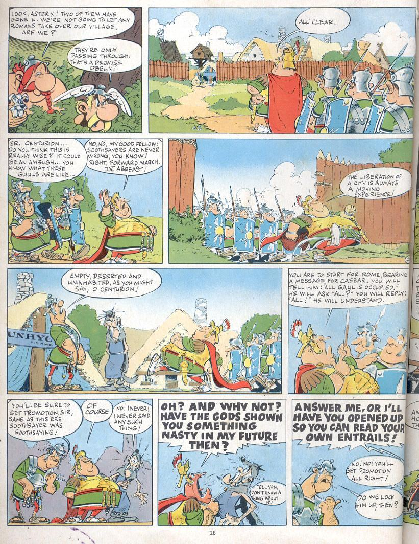 Read online Asterix comic -  Issue #19 - 25
