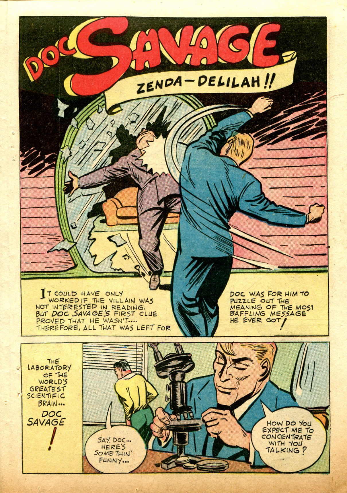 Read online Shadow Comics comic -  Issue #74 - 37