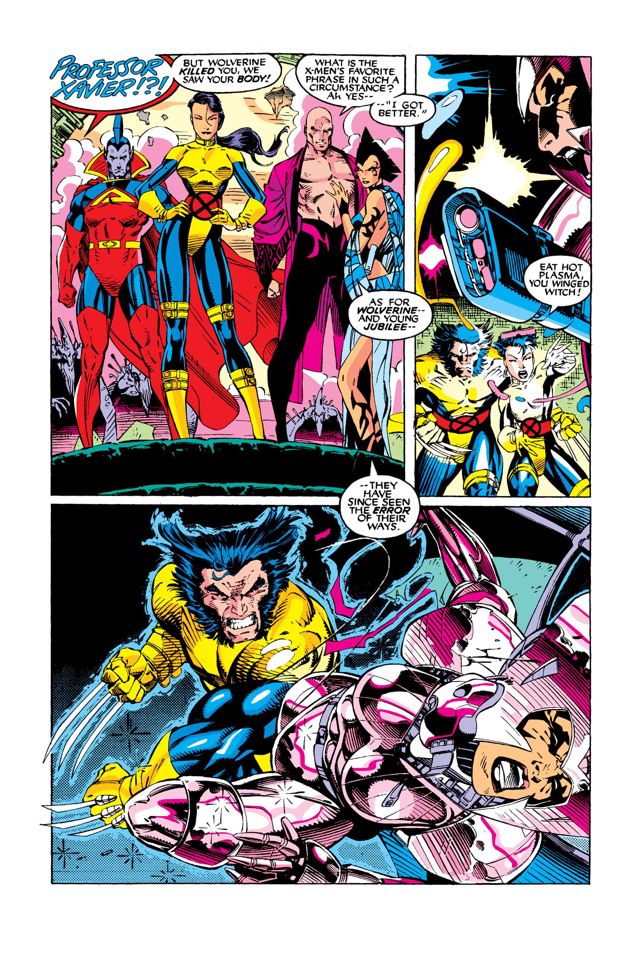 Read online Uncanny X-Men (1963) comic -  Issue #277 - 11