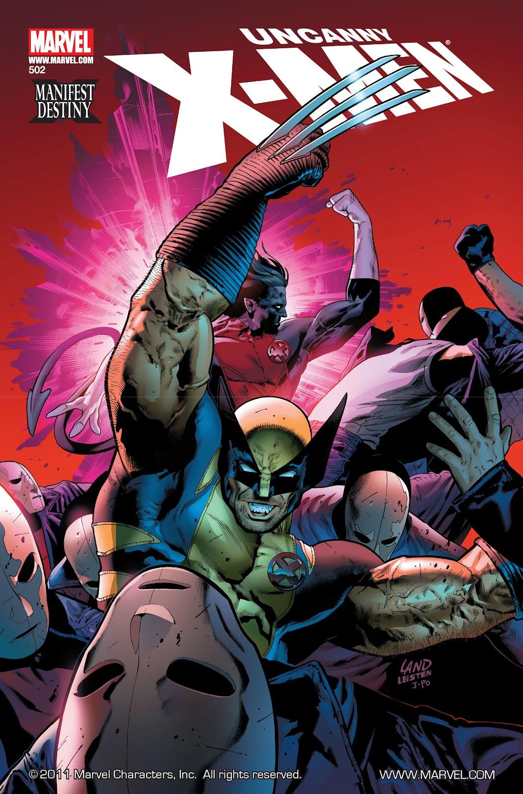 Uncanny X-Men (1963) issue 502 - Page 1