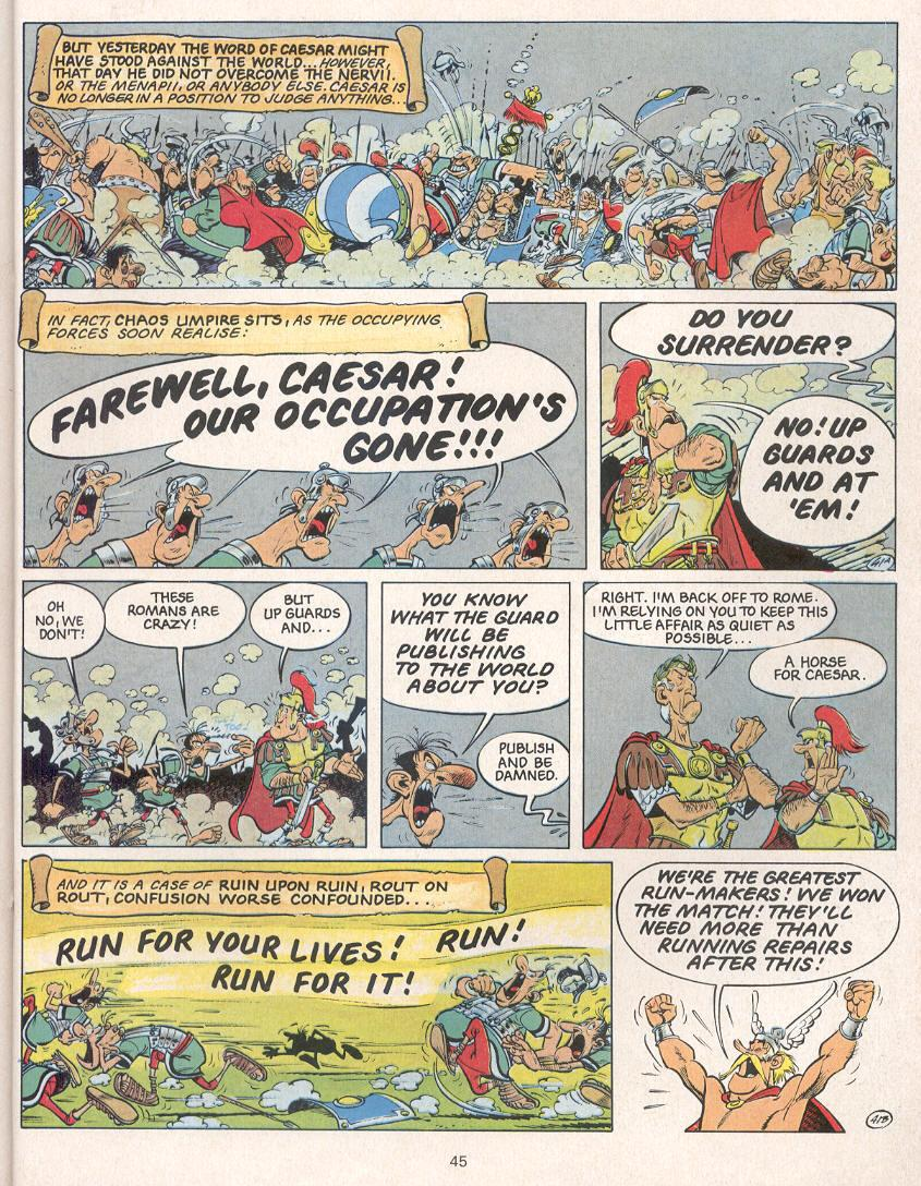 Read online Asterix comic -  Issue #24 - 42