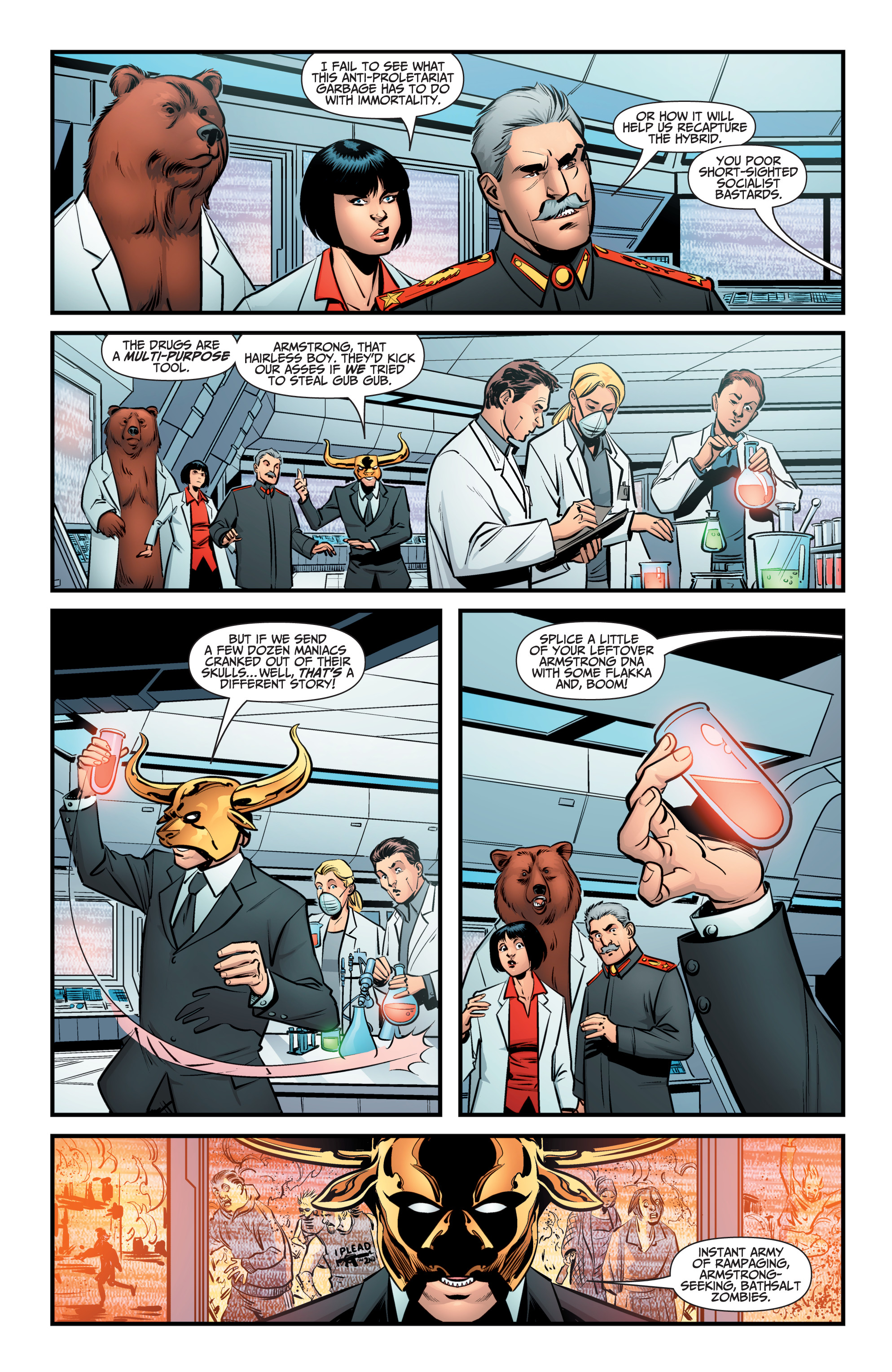 Read online A&A: The Adventures of Archer & Armstrong comic -  Issue #9 - 12