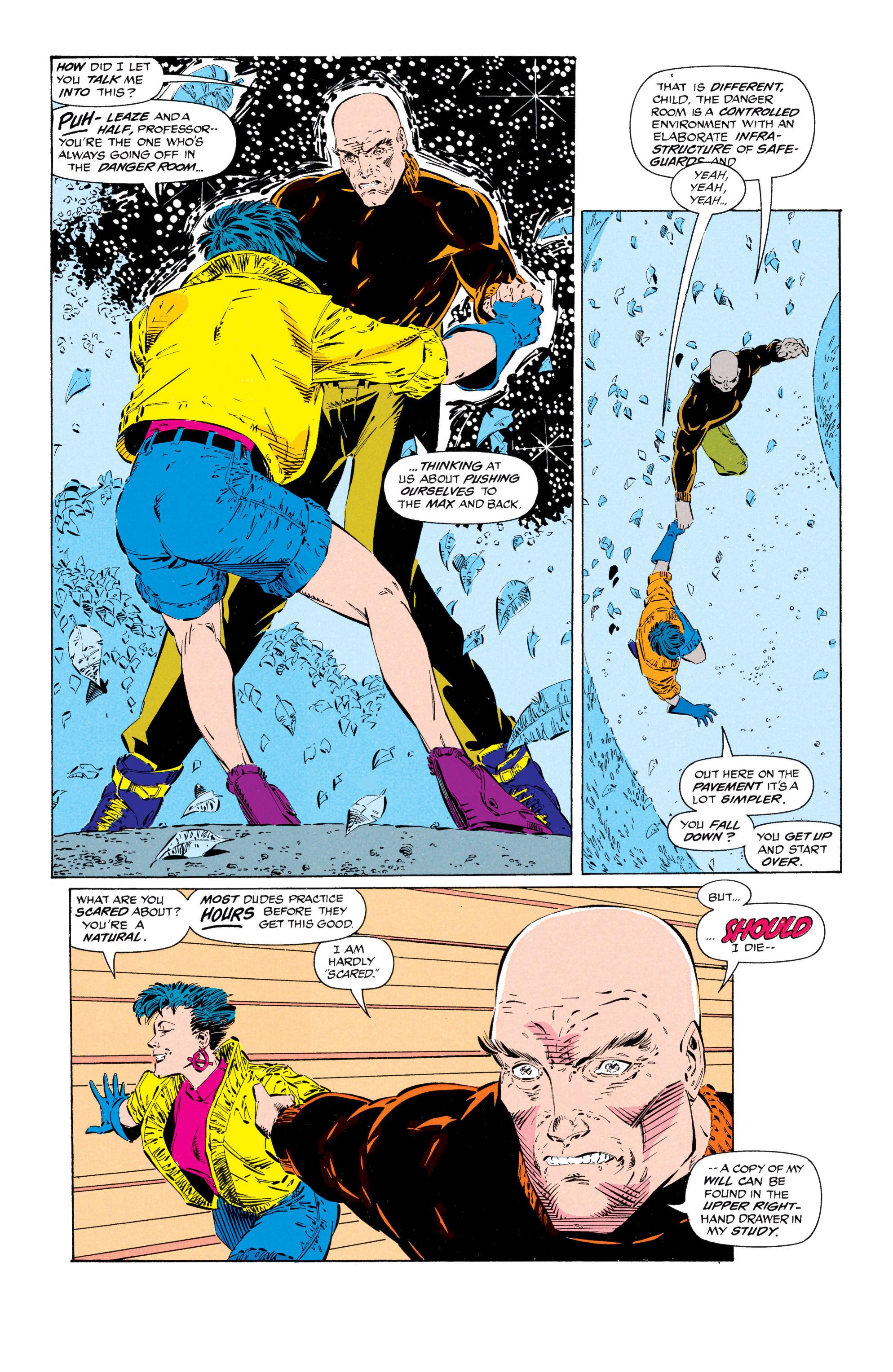 Read online Uncanny X-Men (1963) comic -  Issue #297 - 14