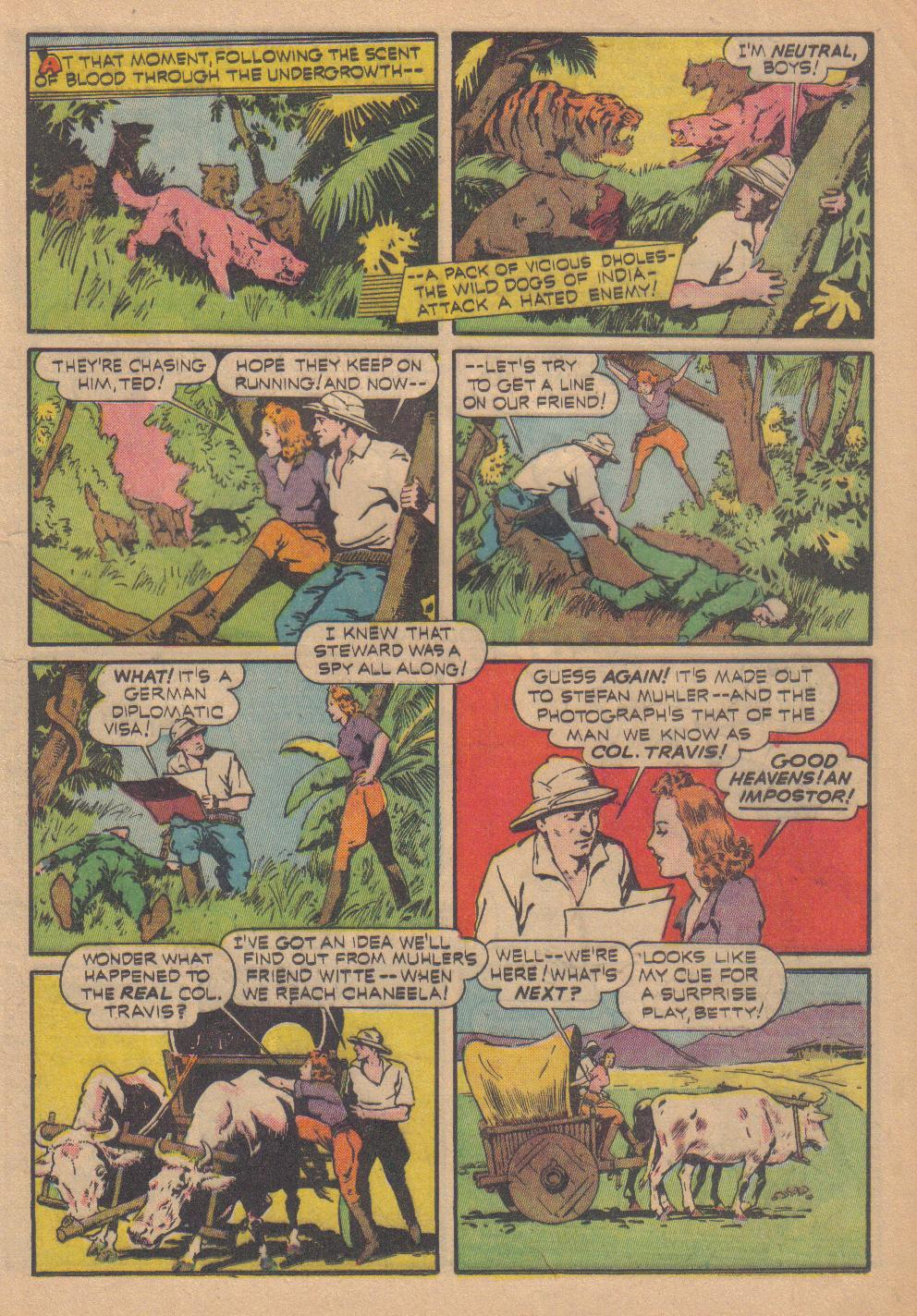 Exciting Comics (1940) issue 13 - Page 23