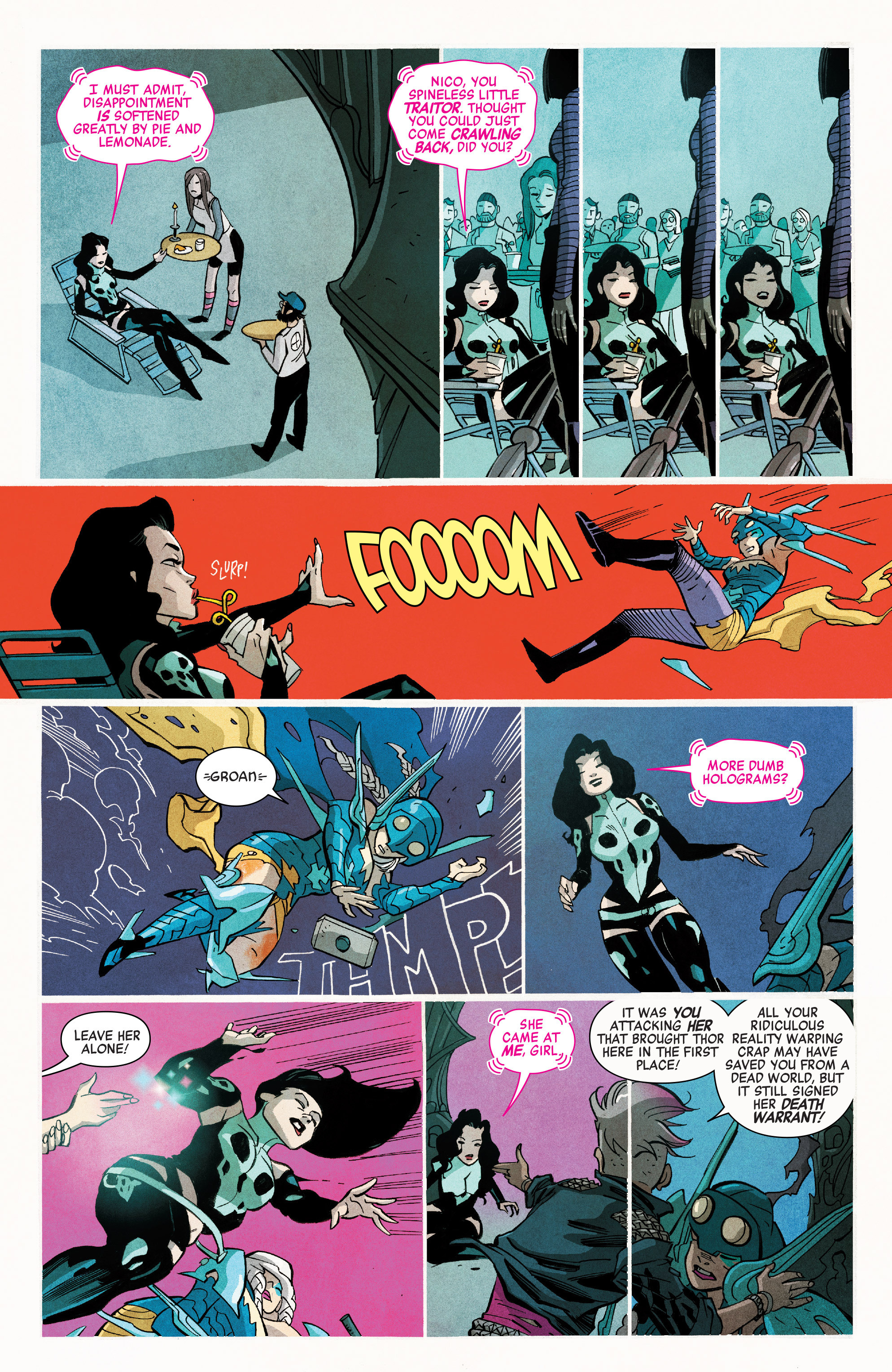Read online A-Force (2016) comic -  Issue #7 - 14