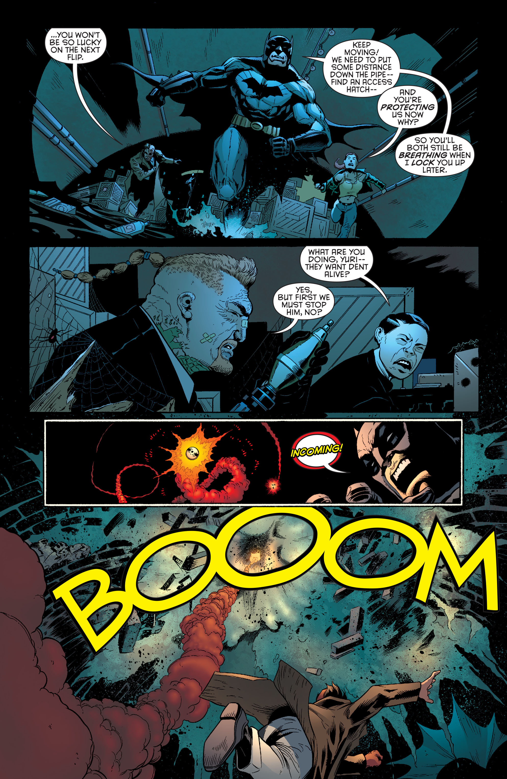Read online Batman and Robin (2011) comic -  Issue #27 - Batman and Two-Face - 11