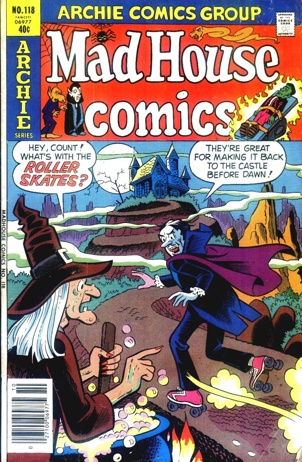 Read online Madhouse Comics comic -  Issue #118 - 1