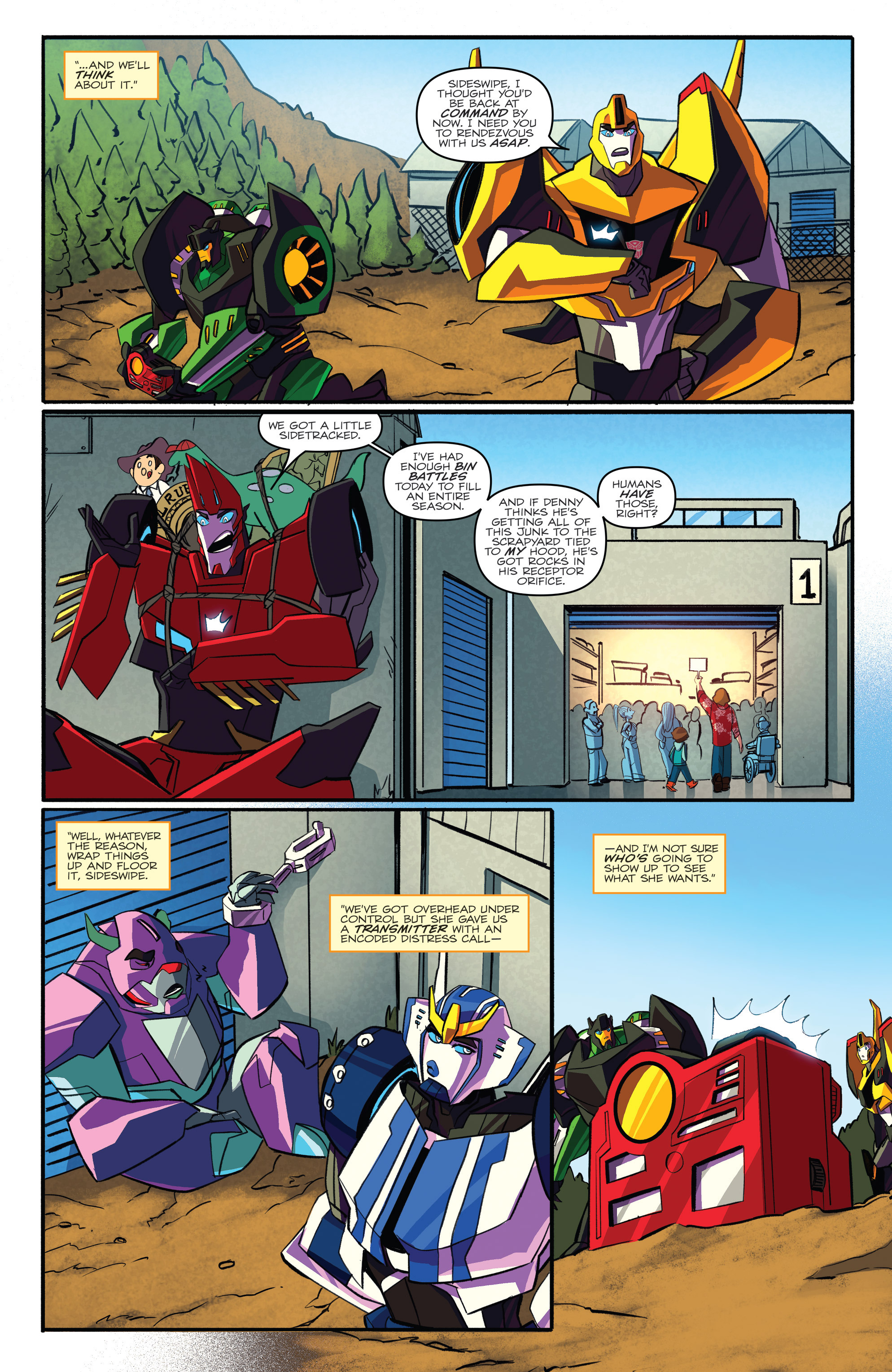Read online Transformers: Robots In Disguise (2015) comic -  Issue #3 - 17