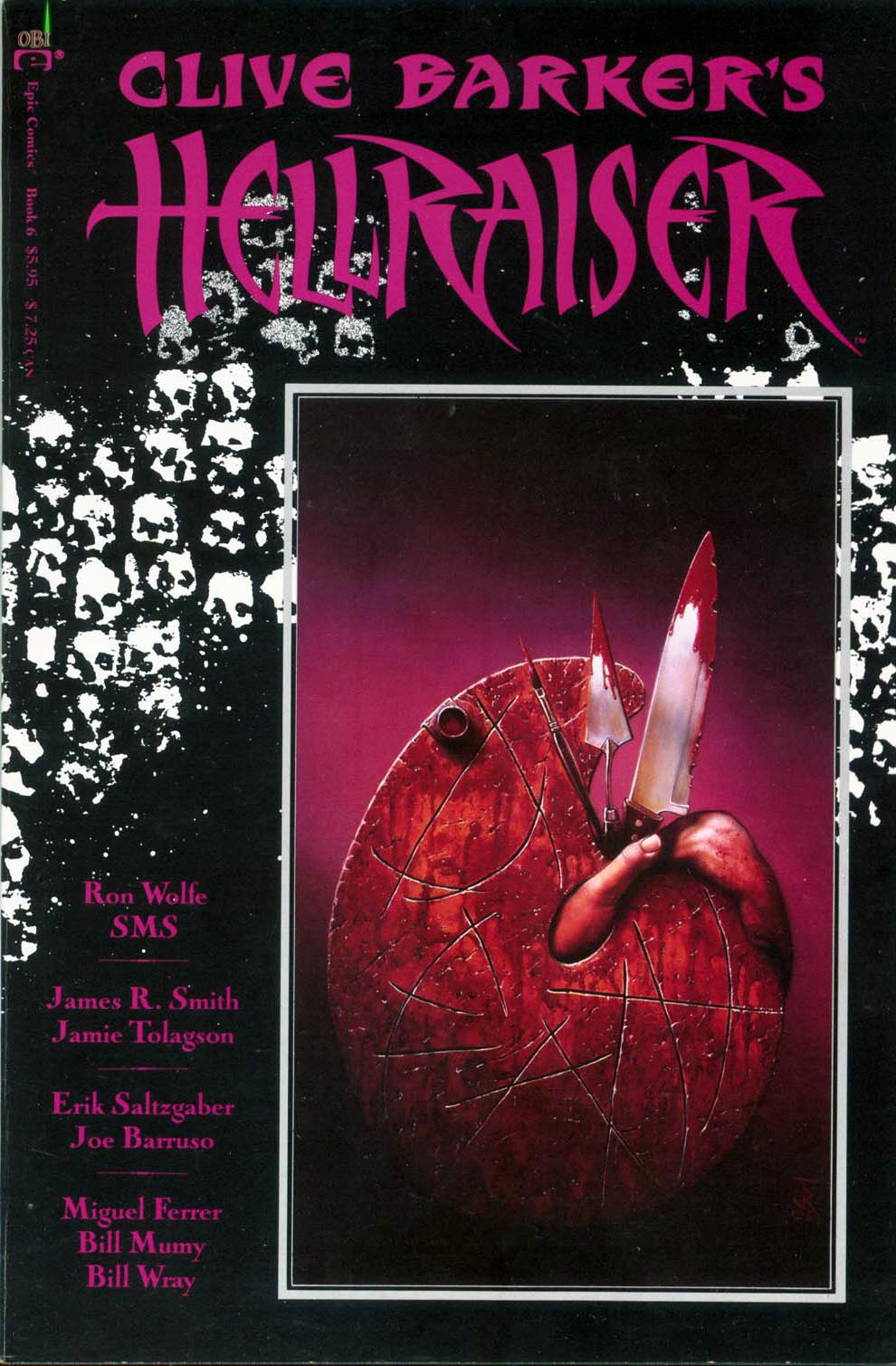Clive Barkers Hellraiser (1989) 6 Page 1