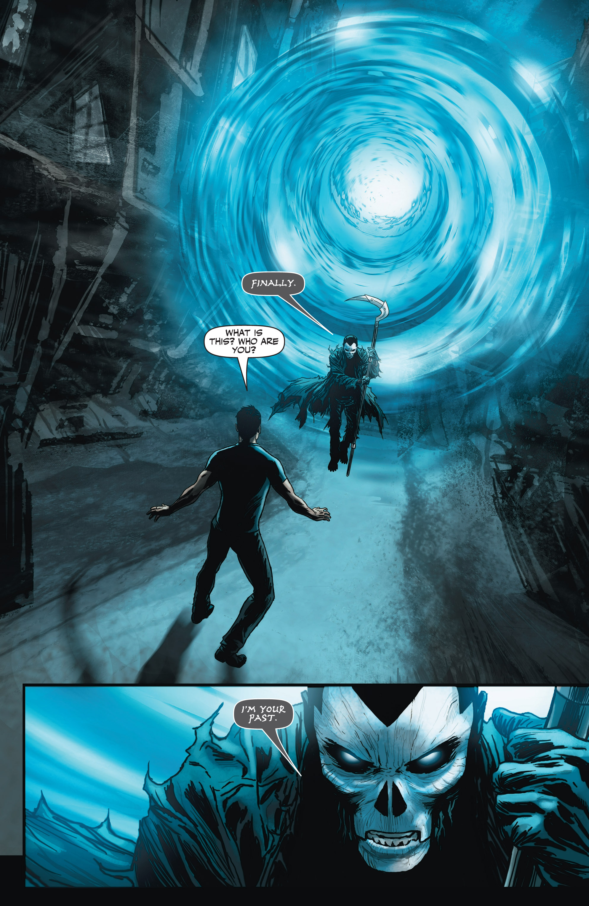 Read online Shadowman (2012) comic -  Issue #3 - 18
