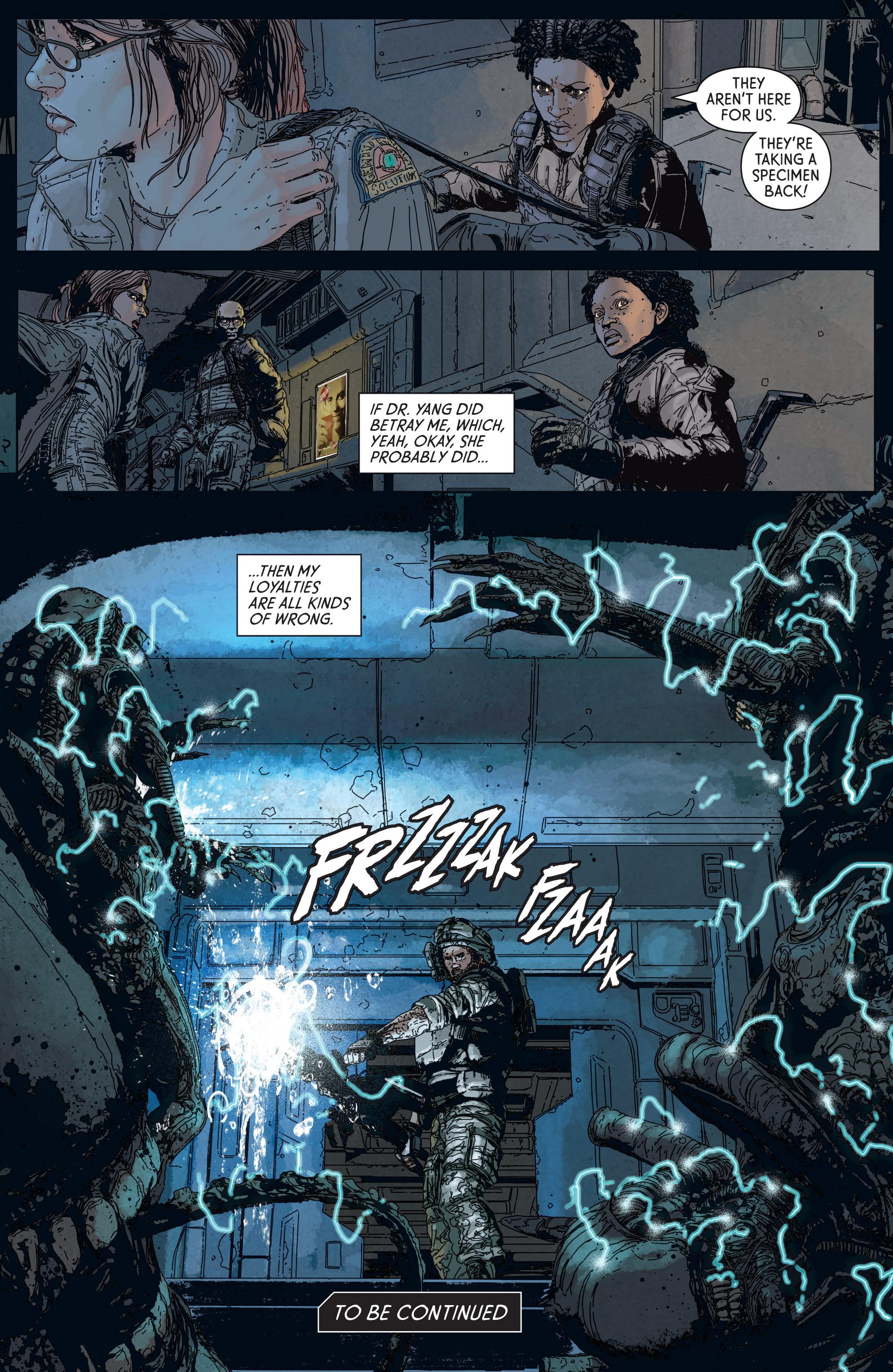Read online Aliens: Defiance comic -  Issue #5 - 23