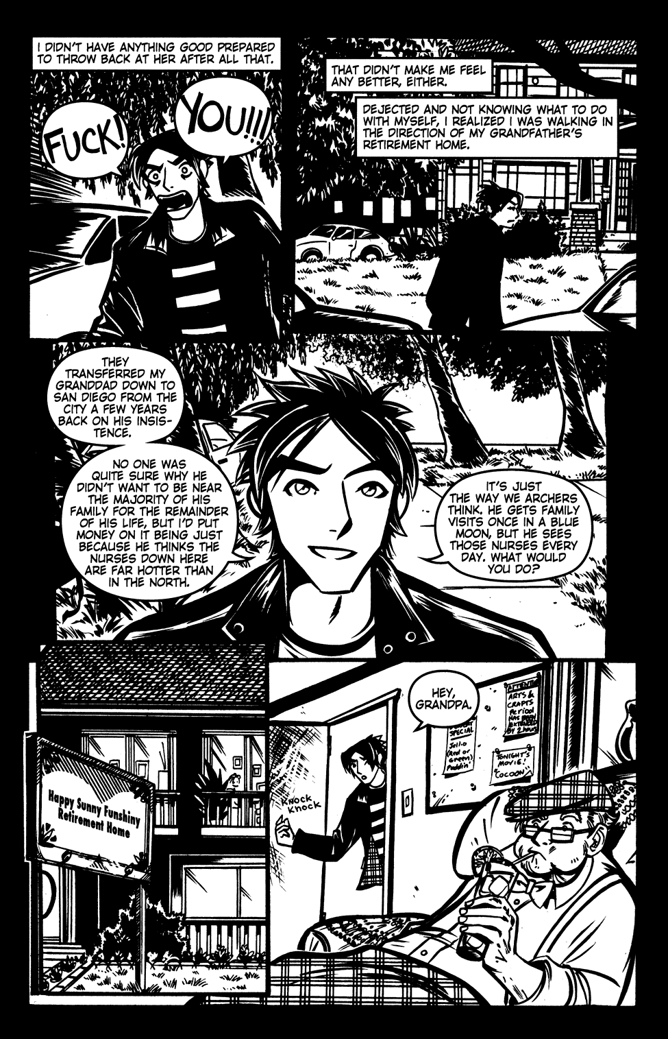 Read online Scooter Girl comic -  Issue #3 - 15