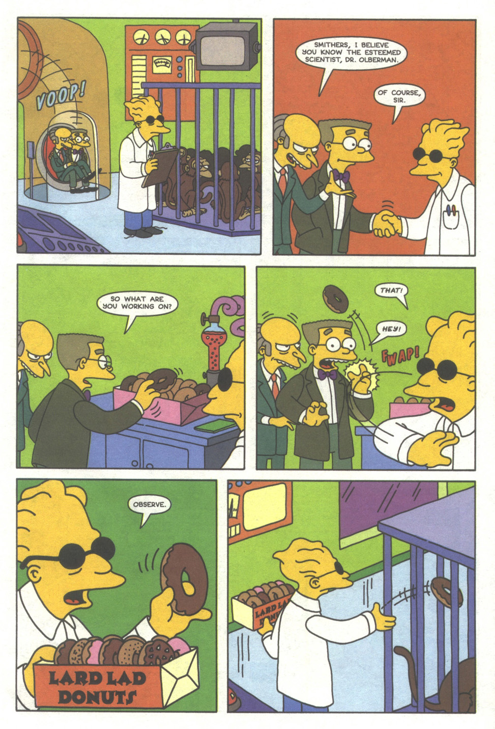 Read online Simpsons Comics comic -  Issue #38 - 6