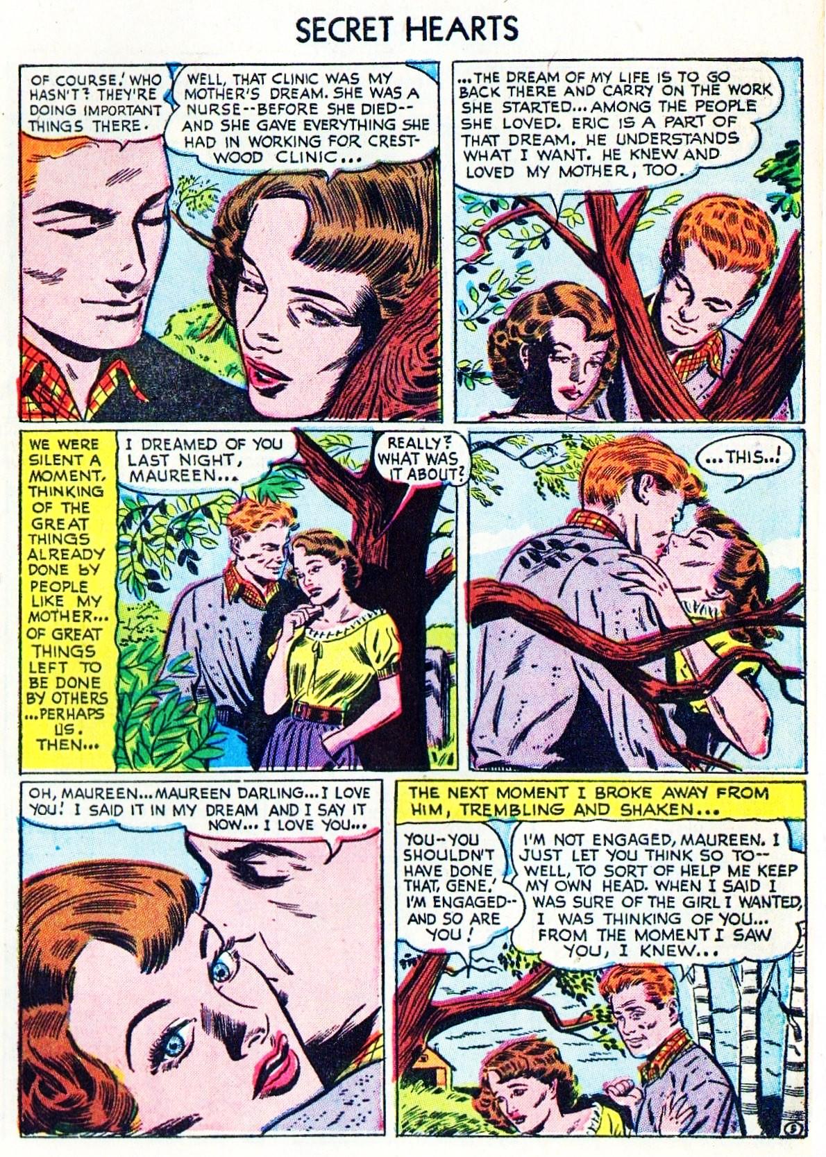Read online Secret Hearts comic -  Issue #15 - 7