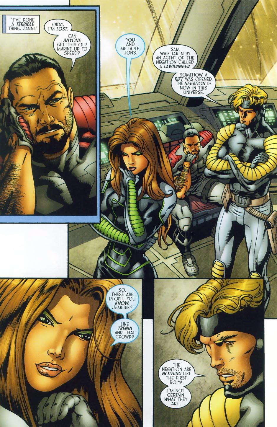 Read online Sigil (2000) comic -  Issue #38 - 9