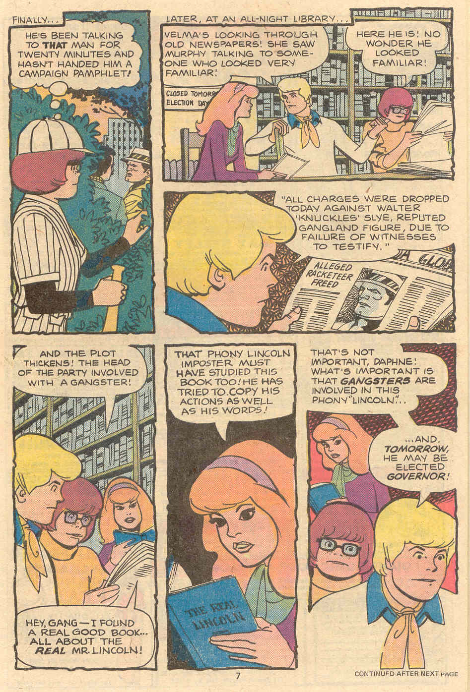 Read online Scooby-Doo (1977) comic -  Issue #2 - 6