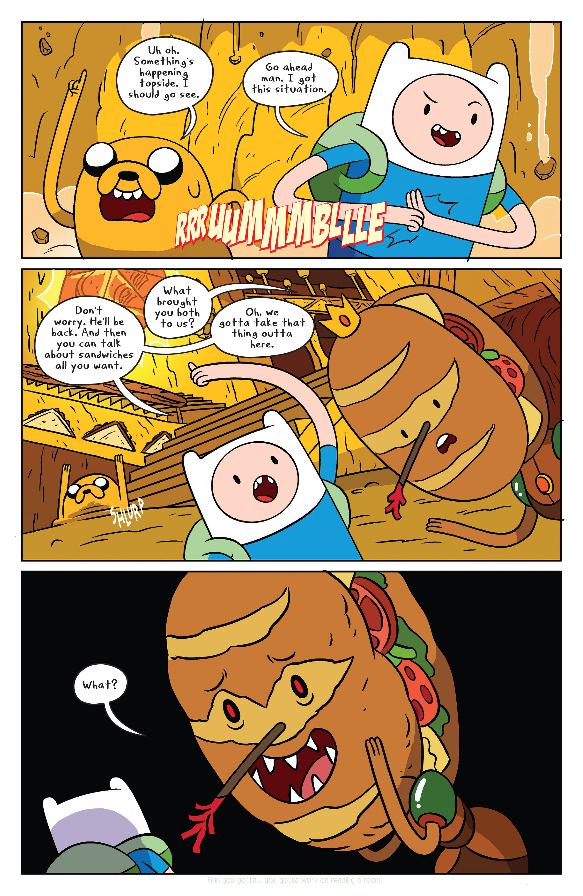 Read online Adventure Time comic -  Issue #38 - 13