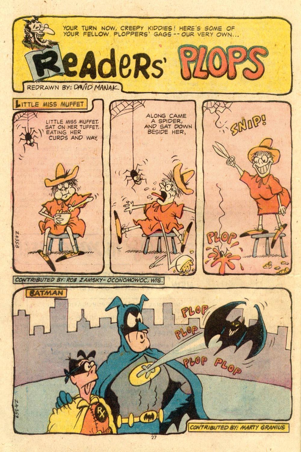 Read online Plop! comic -  Issue #7 - 28