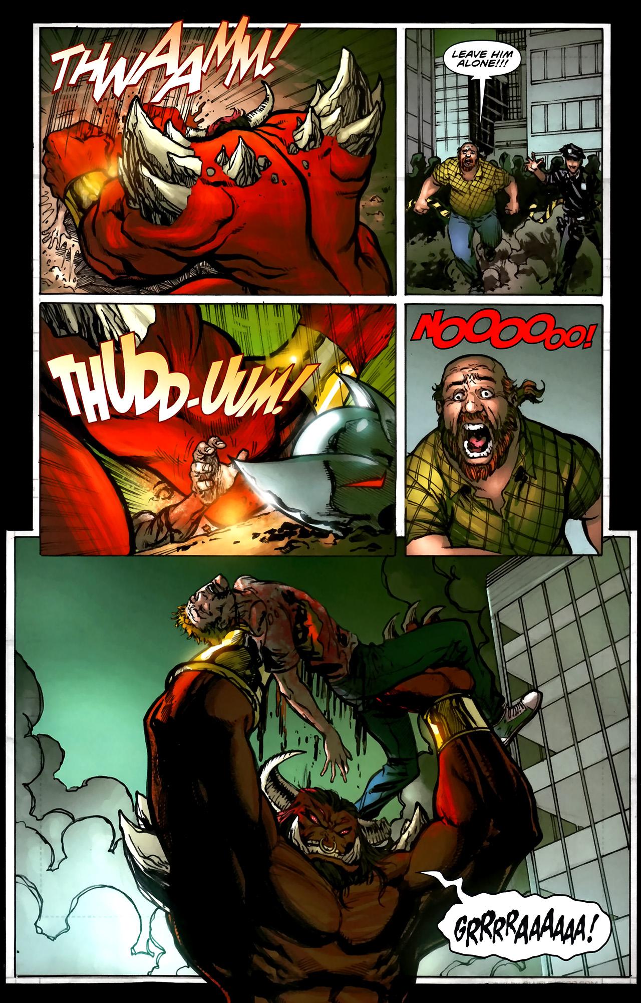 Read online ShadowHawk (2010) comic -  Issue #5 - 17