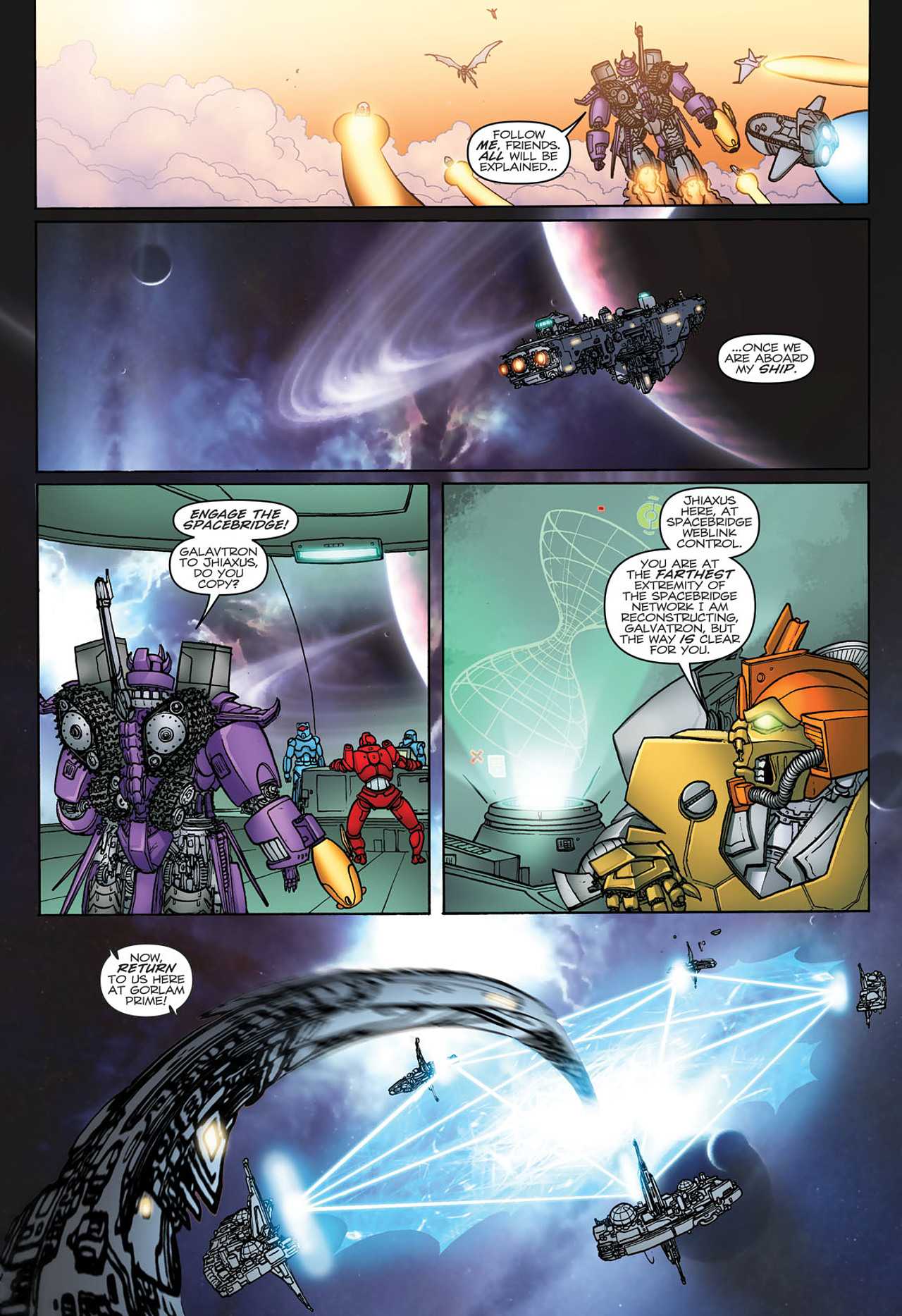 Read online Transformers: Heart of Darkness comic -  Issue #3 - 17