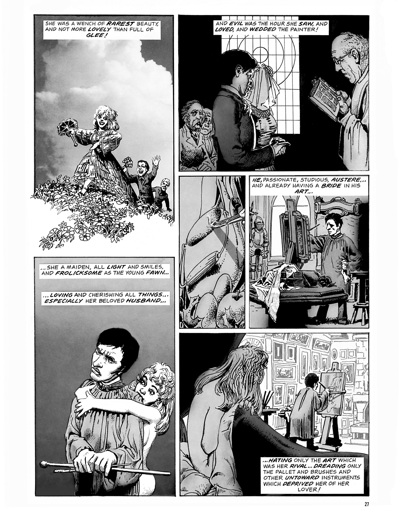 Read online Eerie Archives comic -  Issue # TPB 18 - 28