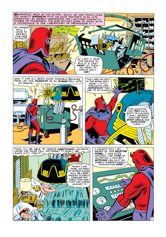 Read online Uncanny X-Men (1963) comic -  Issue #18 - 8