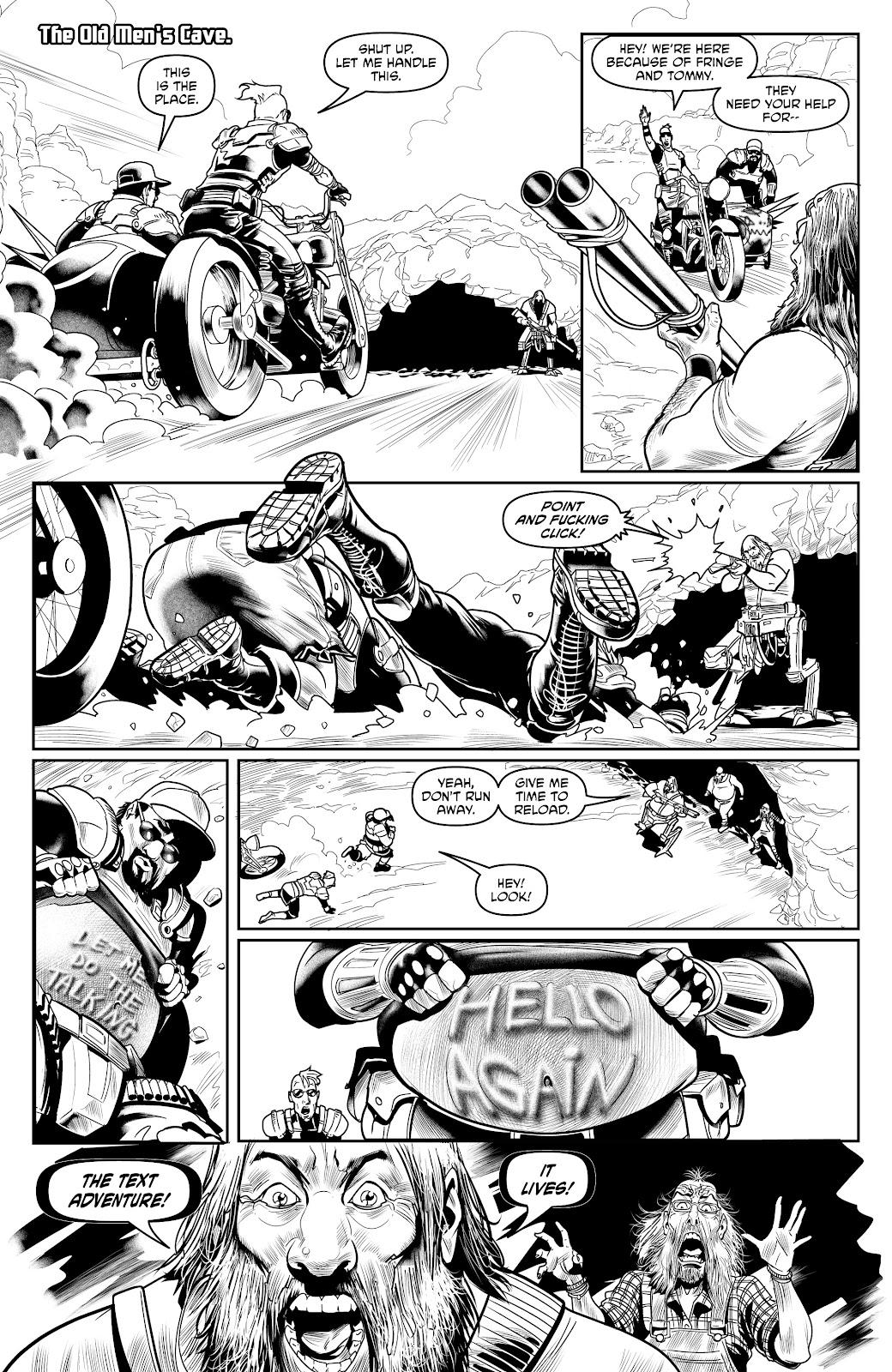 Read online Alan Moore's Cinema Purgatorio comic -  Issue #17 - 25