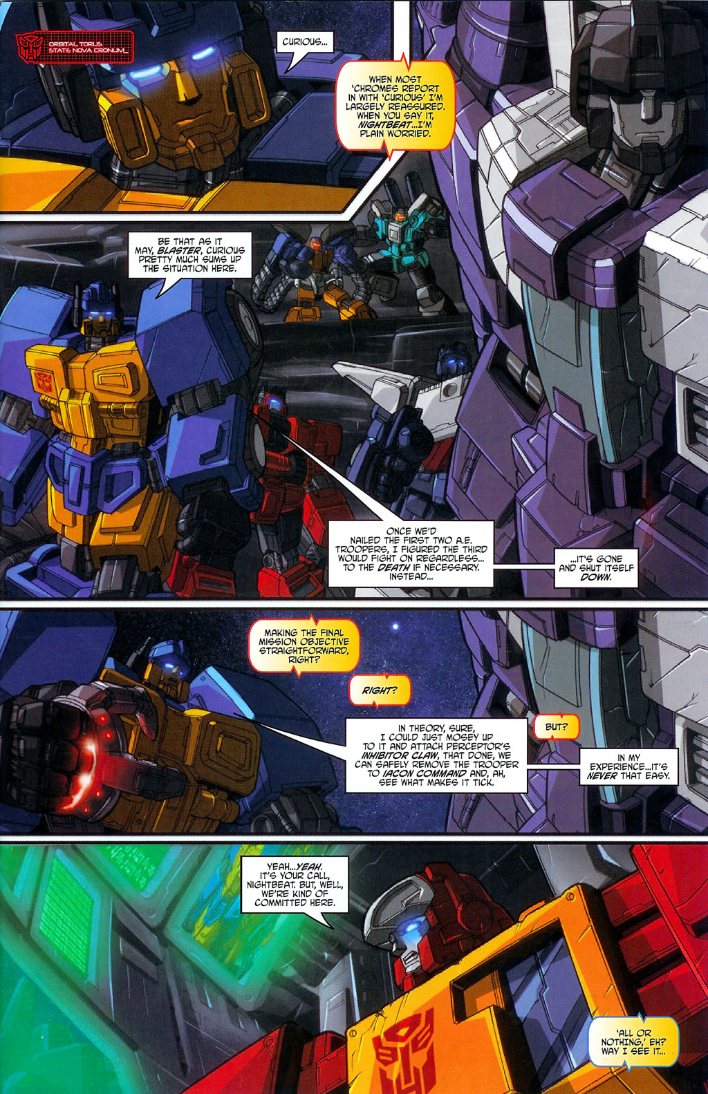 """Read online Transformers War Within: """"The Age of Wrath"""" comic -  Issue #3 - 6"""