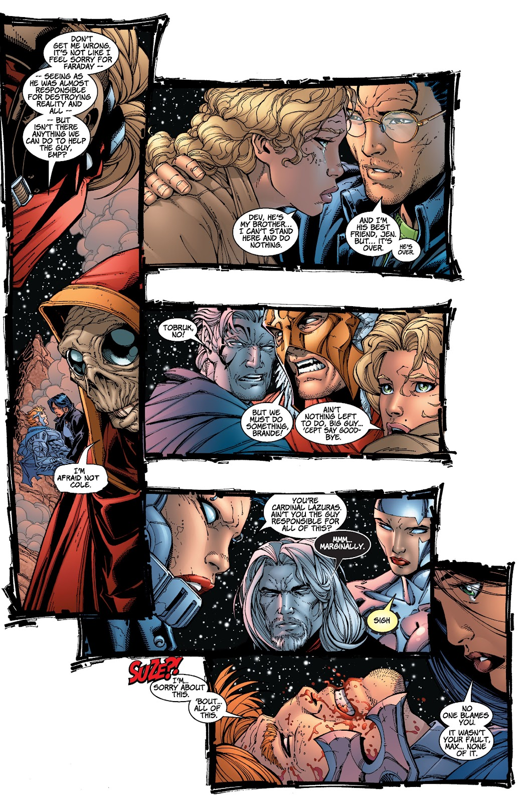 Read online Divine Right comic -  Issue # _TPB The Adventures of Max Faraday (Part 4) - 30