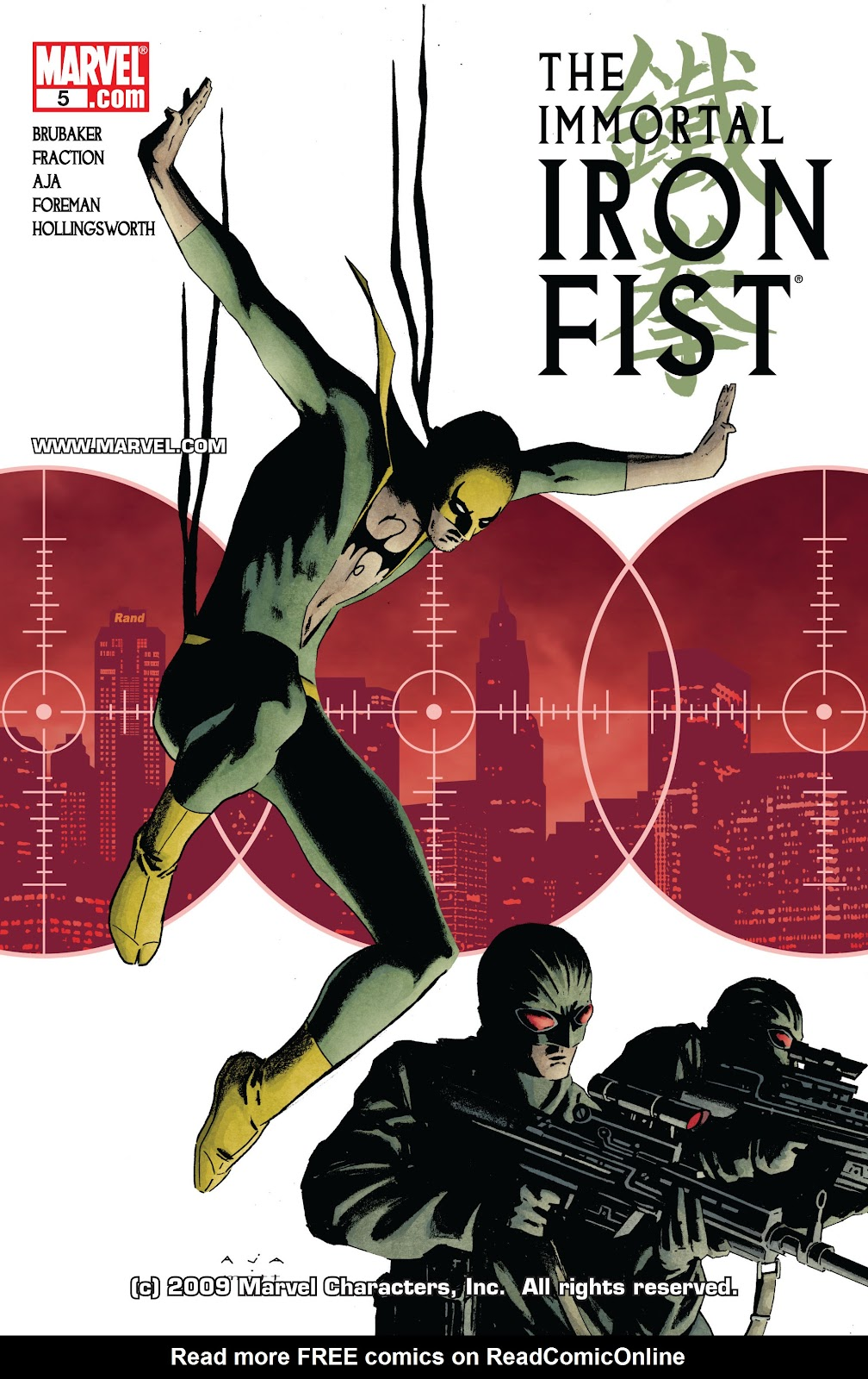 The Immortal Iron Fist issue 5 - Page 1