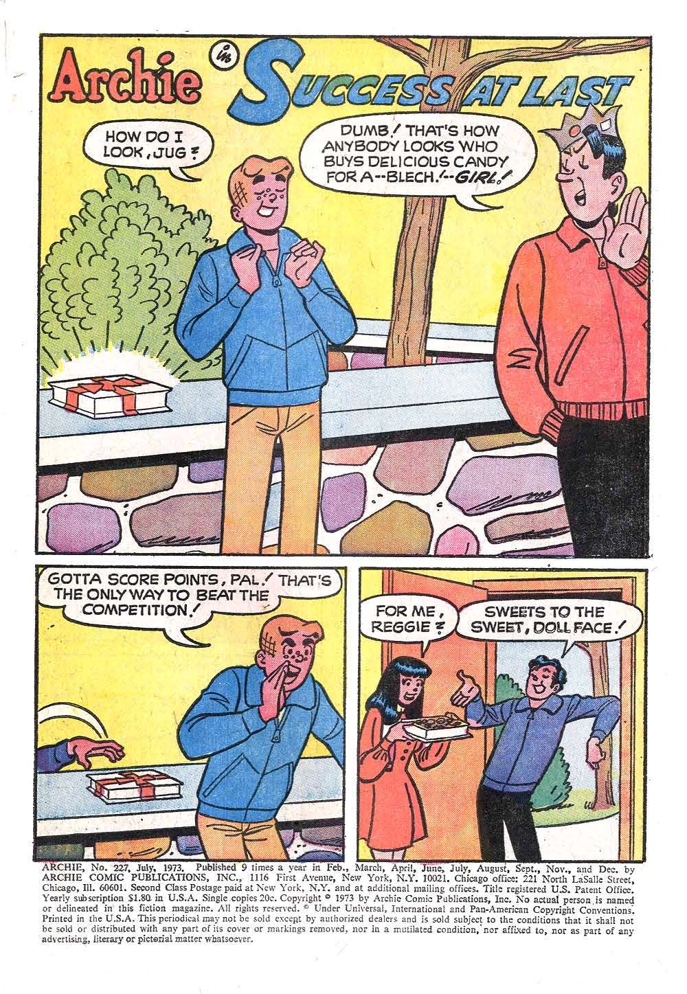 Read online Archie (1960) comic -  Issue #227 - 3