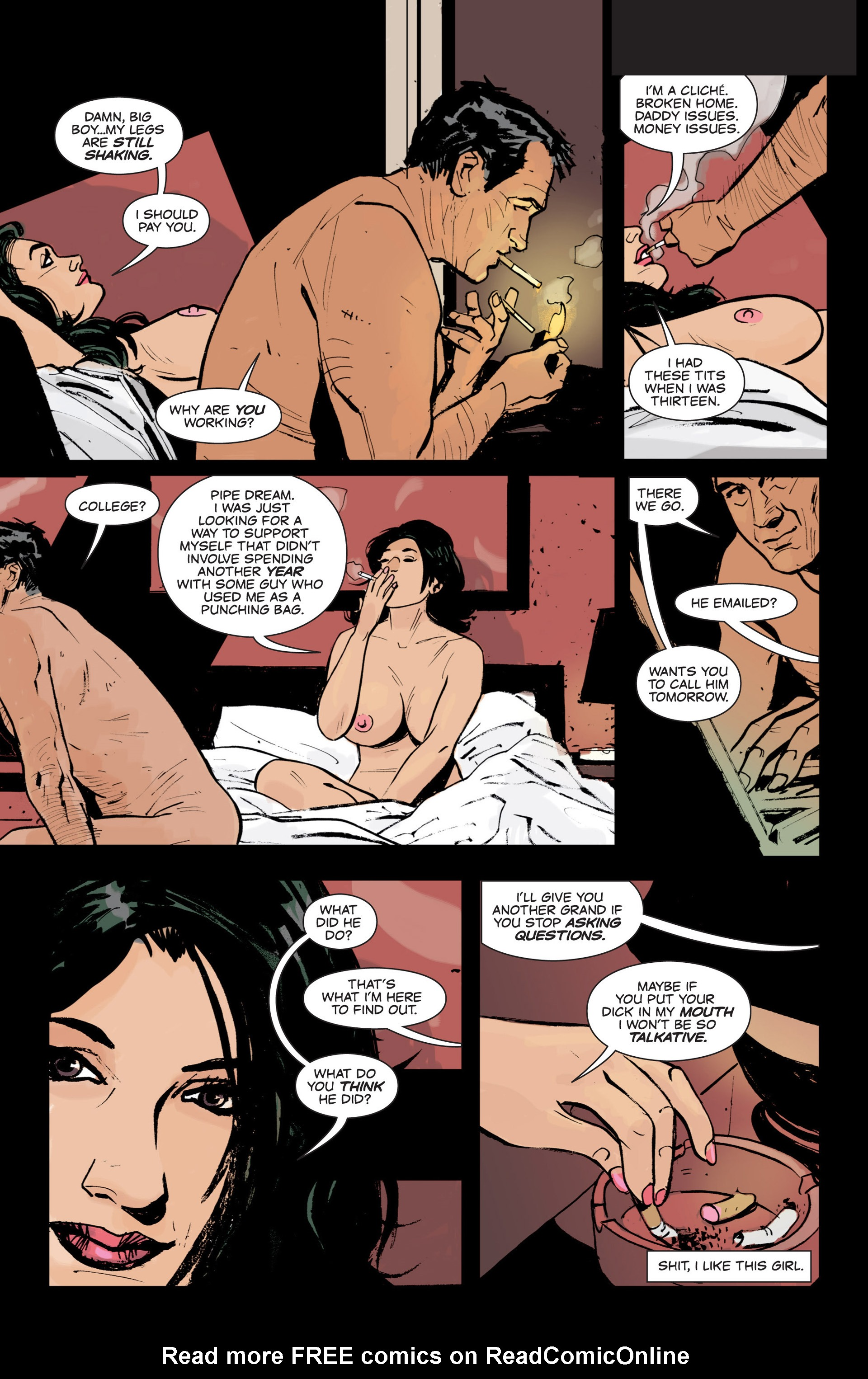 Read online Sex and Violence comic -  Issue # Full - 15