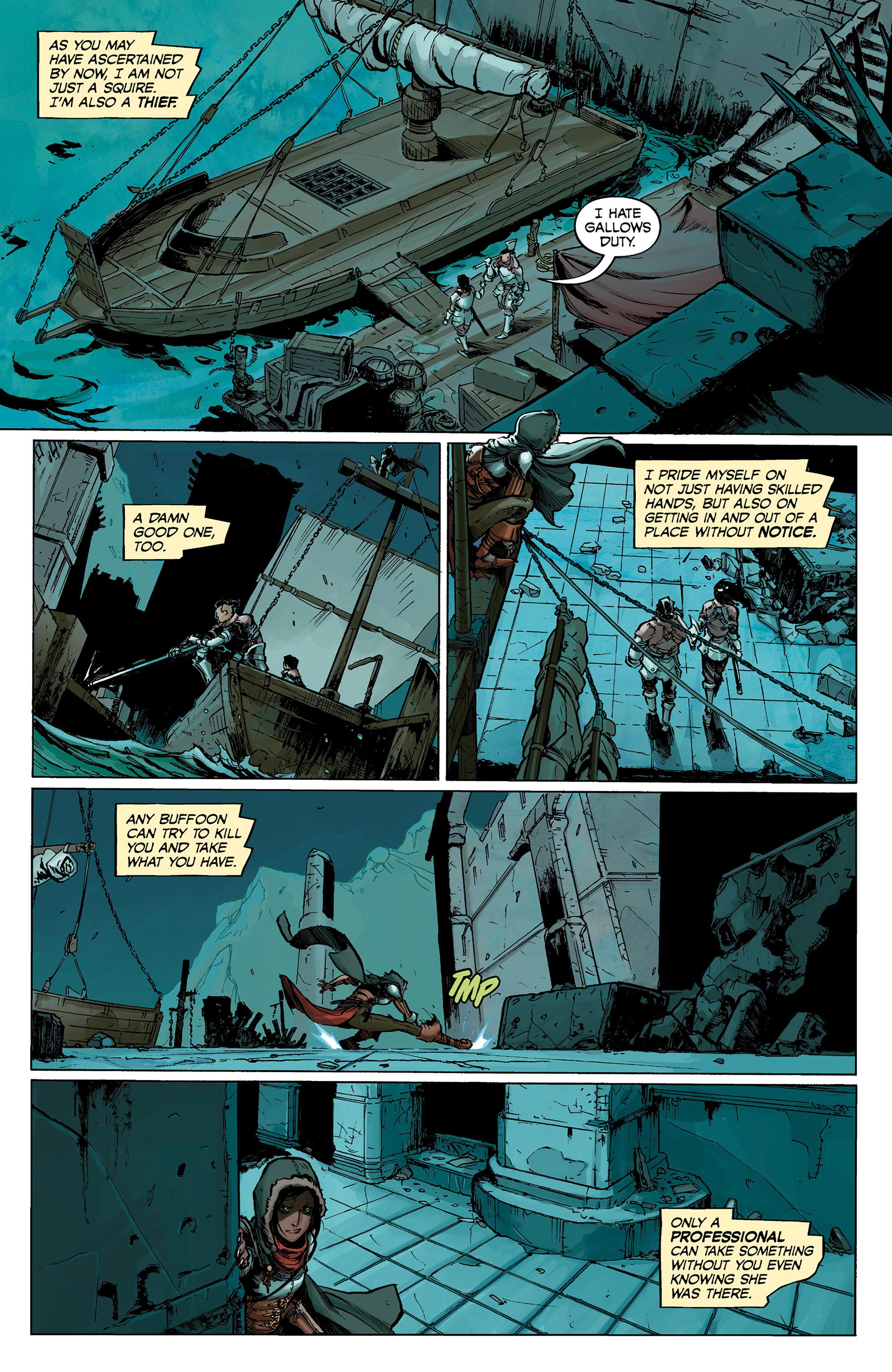Read online Dragon Age: Knight Errant comic -  Issue #1 - 12