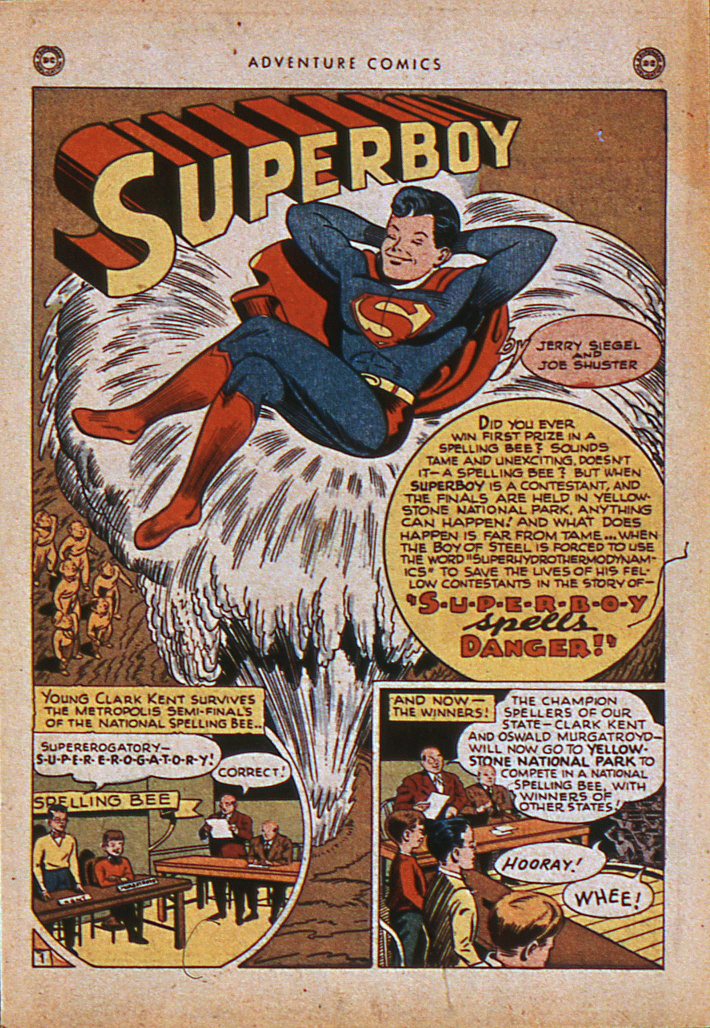 Read online Adventure Comics (1938) comic -  Issue #114 - 4