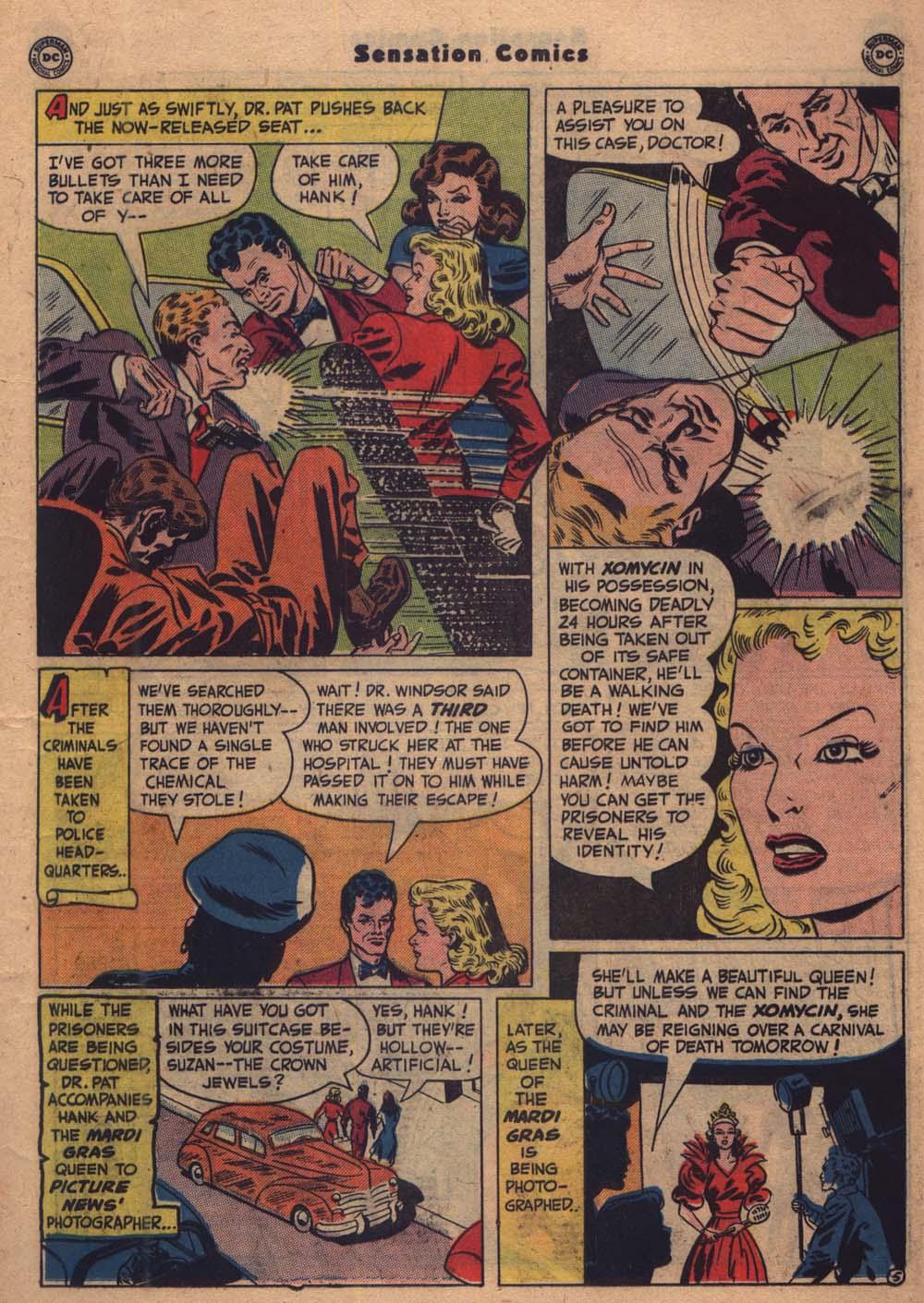 Read online Sensation (Mystery) Comics comic -  Issue #103 - 26