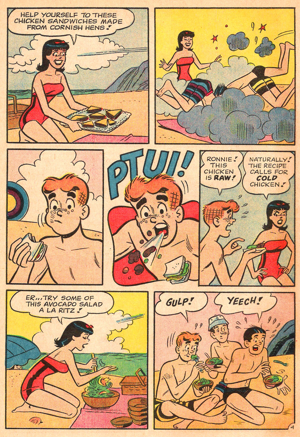 Read online Archie's Girls Betty and Veronica comic -  Issue #130 - 6