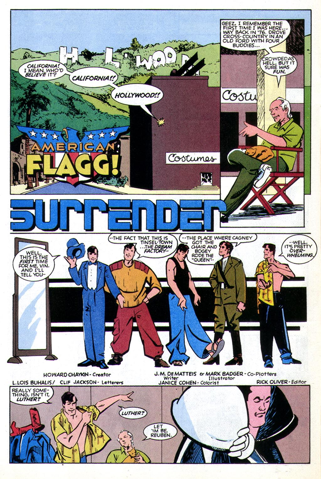 Read online American Flagg! comic -  Issue #43 - 4