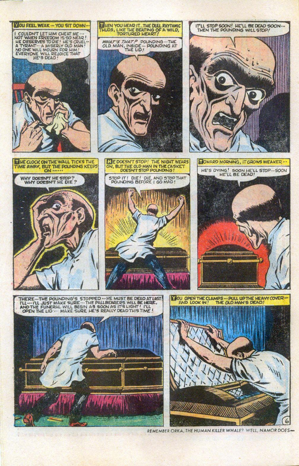 Read online Adventures into Weird Worlds comic -  Issue #5 - 7