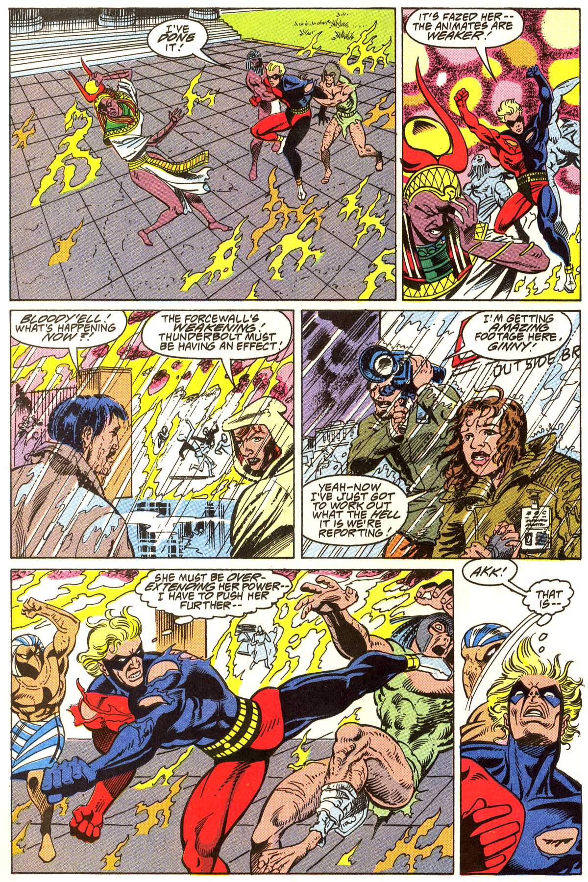 Read online Peter Cannon--Thunderbolt (1992) comic -  Issue #4 - 17