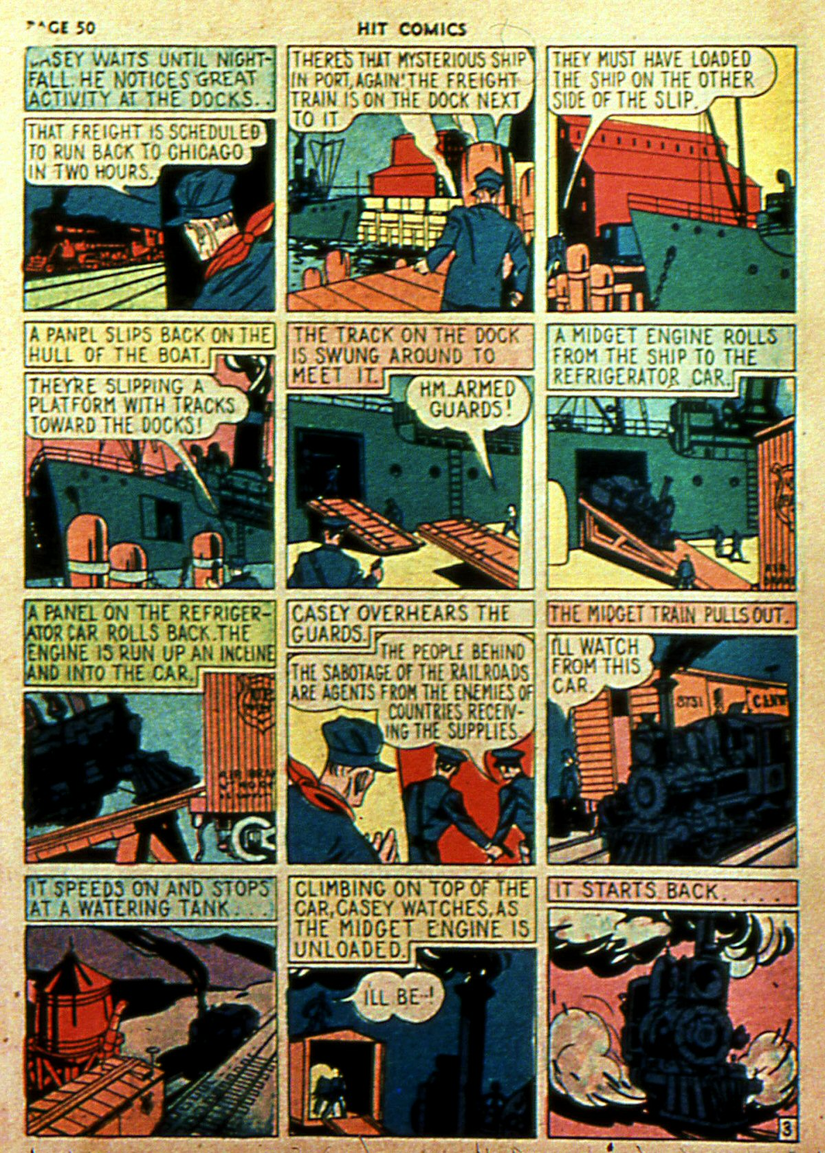Read online Hit Comics comic -  Issue #2 - 52