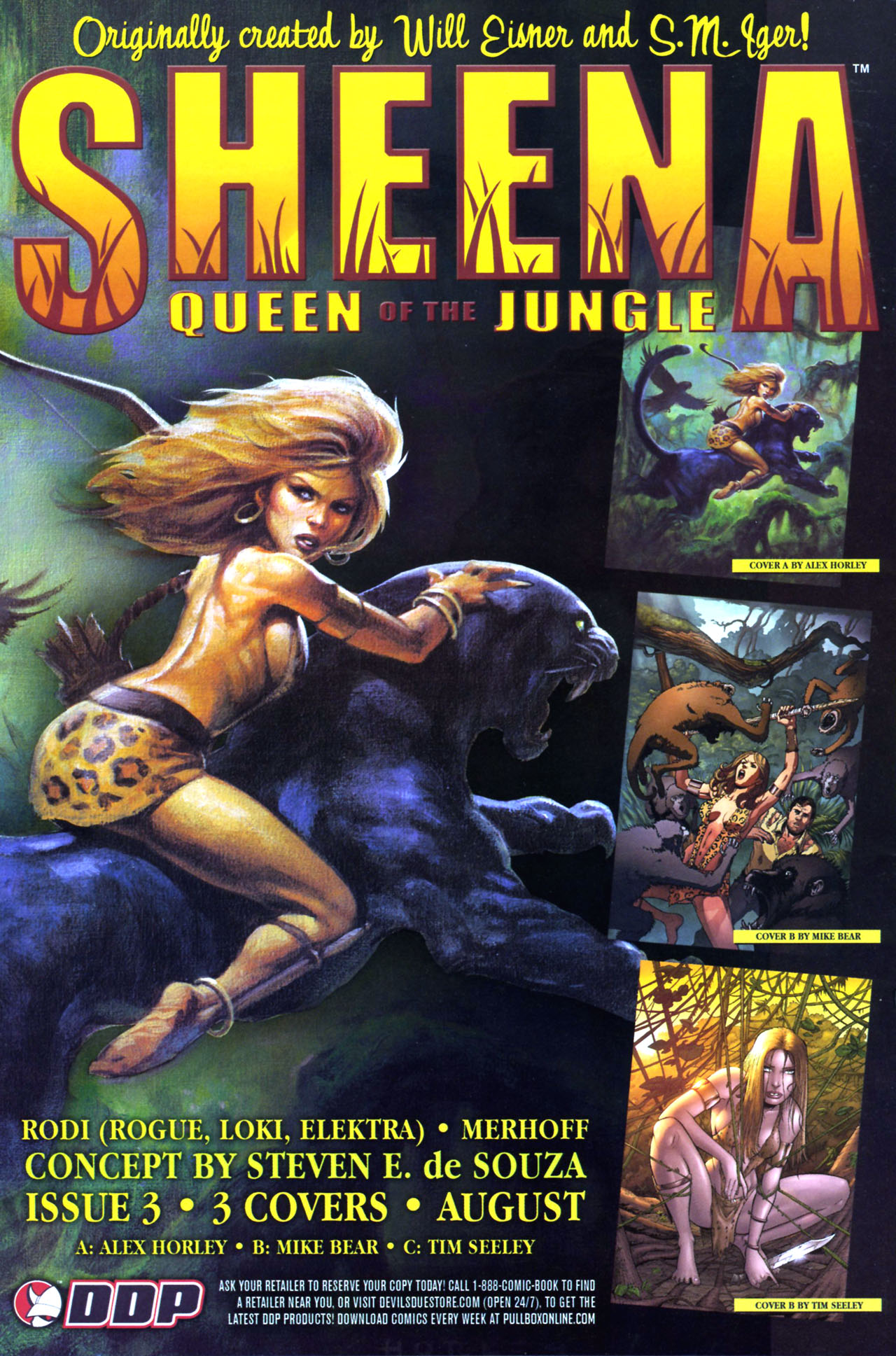 Read online Sheena, Queen of the Jungle comic -  Issue #2 - 25