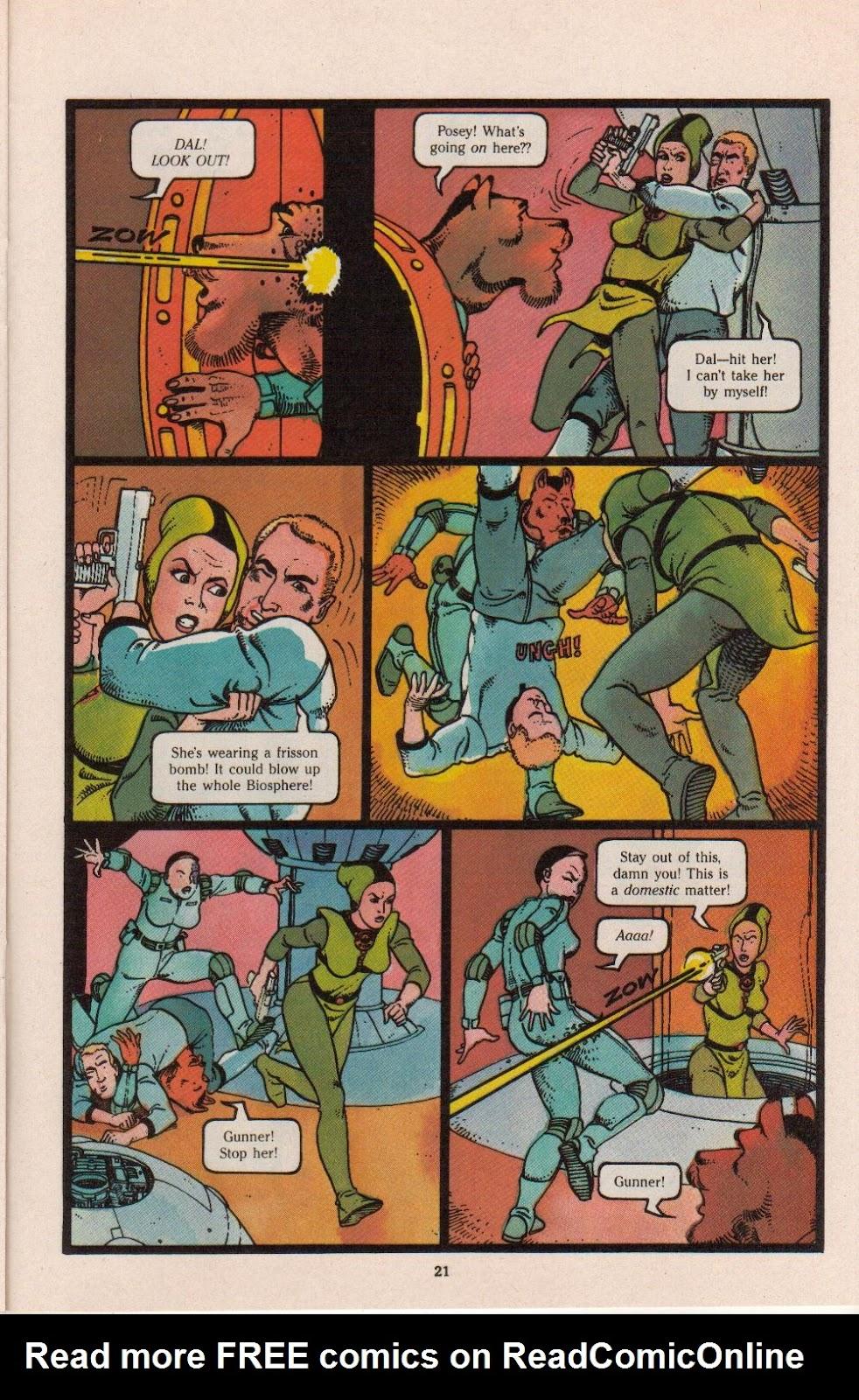 Read online Dalgoda comic -  Issue #8 - 23