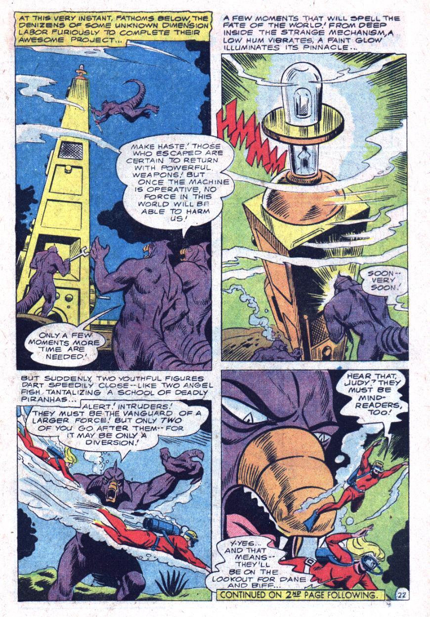Read online Sea Devils comic -  Issue #35 - 30