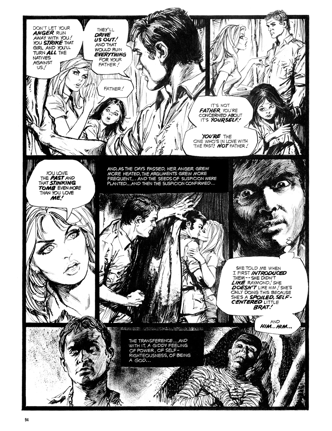 Read online Eerie Archives comic -  Issue # TPB 10 - 95