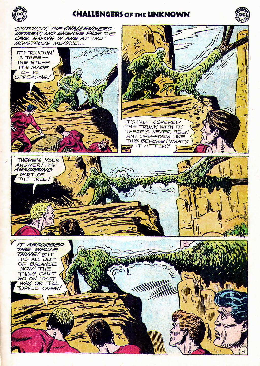 Challengers of the Unknown (1958) issue 38 - Page 7