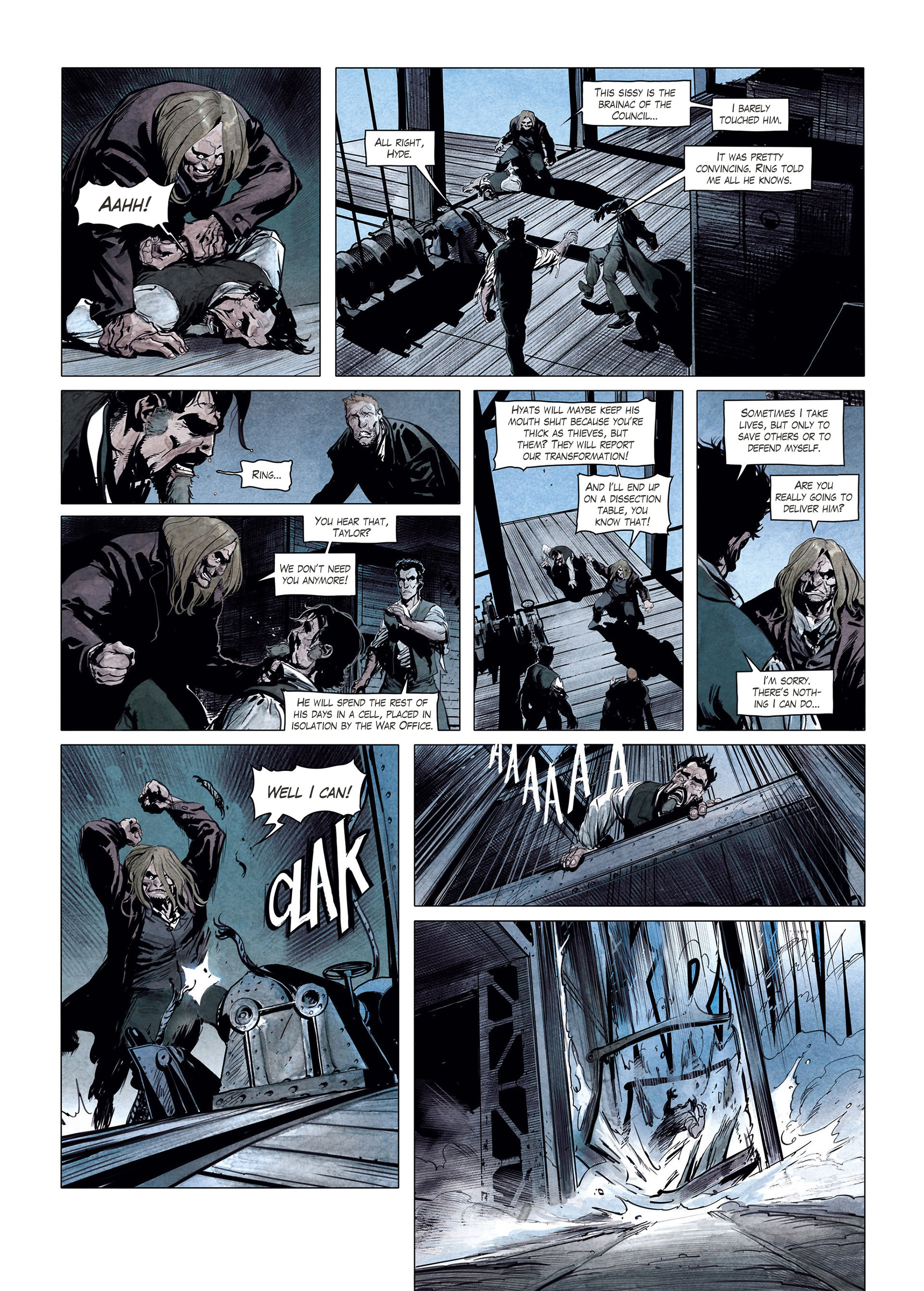 Read online Sherlock Holmes Society Tome 4 : Contamination comic -  Issue # Full - 47