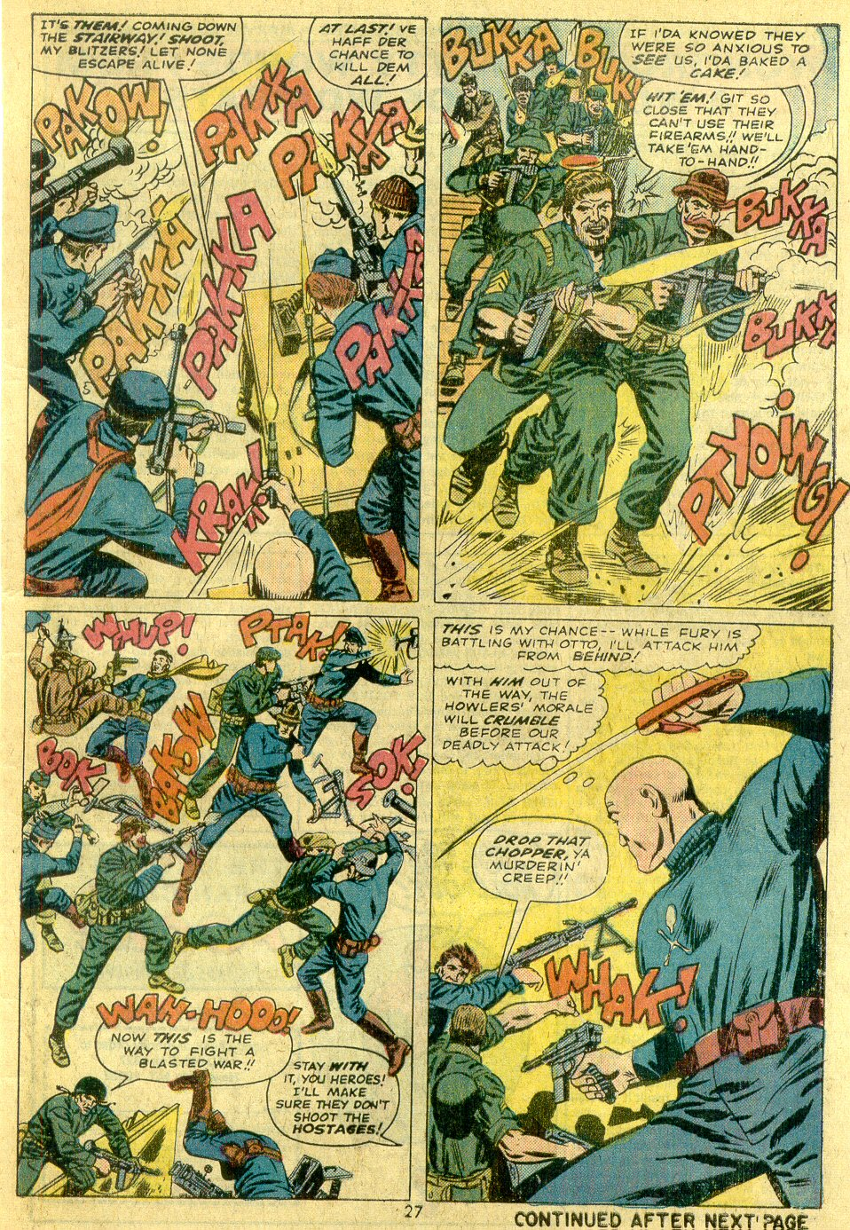 Read online Sgt. Fury comic -  Issue #122 - 29