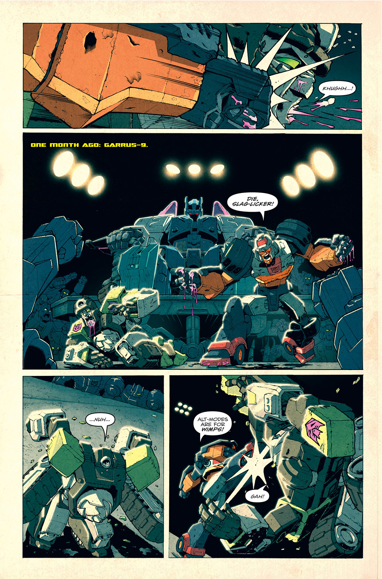 Read online Transformers: Last Stand of The Wreckers comic -  Issue #1 - 23